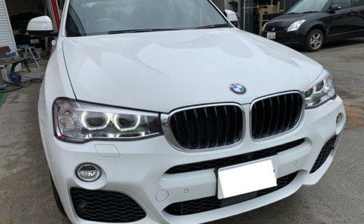 【売却済】BMW X3 XDrive20d Mスポーツ